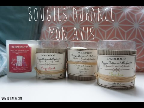 Bougies Durance : Favorites et Flops