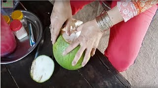 How To Cut and Eat Pomelo Fruit