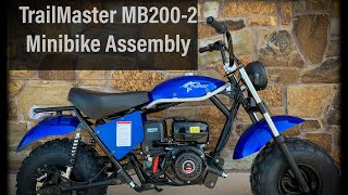 TrailMaster MB200-2 Minibike Assembly | Walkthrough
