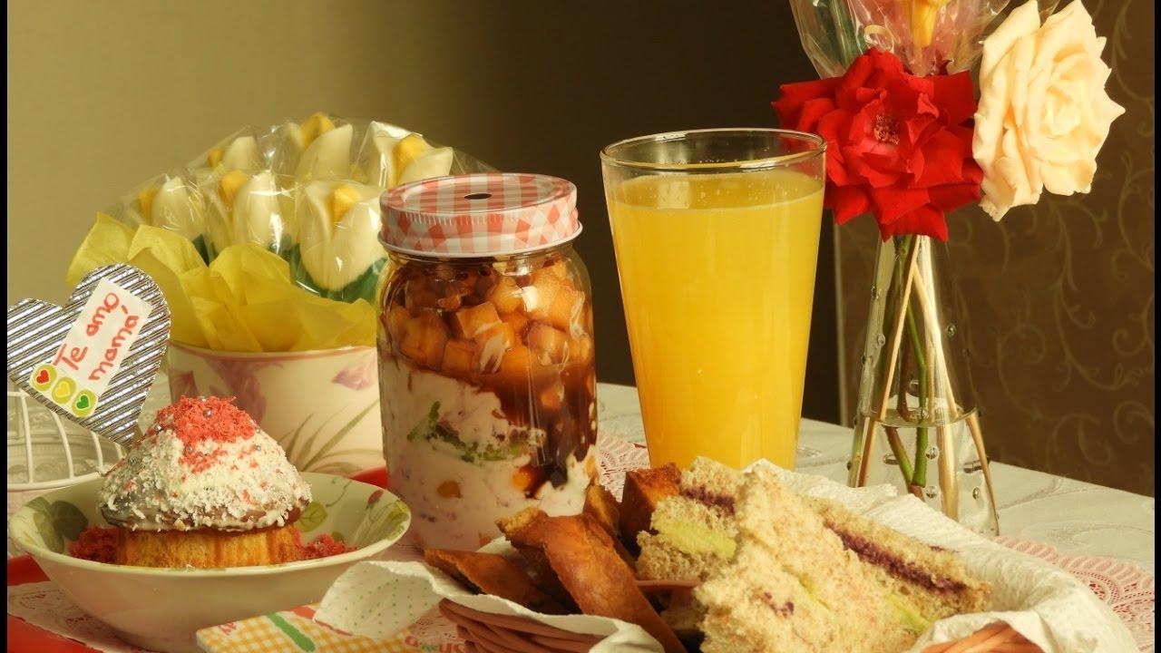 Desayuno Del Dia De La Madre