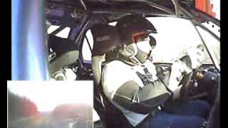James Grint shaking down his new Group N Evo 9 Mitsubishi