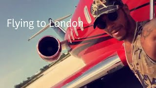 Flying To London + Smoking In The Plane! | Lewis Hamilton Snapchat Vlog