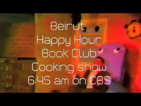 Beirut Happy Hour Book Club Cooking Show