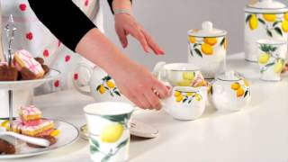 Lemon Tree bone china tableware - Premier Housewares