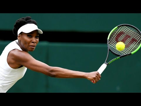 Venus Williams defeated at Wimbledon as Roger Federer heads into final