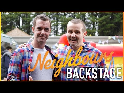 Neighbours Backstage - Ryan Moloney (Toadie Rebecchi)