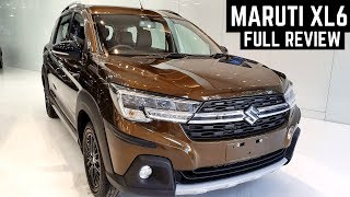 Maruti Suzuki XL6 MPV FULL Detailed Review - Interiors, Features, Price, Variants - XL6 Top Model