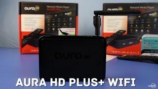 Aura HD Plus WiFi: Обзор HD-медиаплеера, распаковка, тестирование плеера, объективное мнение(Ваш телевизор не поддерживает множество современных функций, например выход в Сеть, а еще в нем нет выхода..., 2015-01-26T22:37:45.000Z)