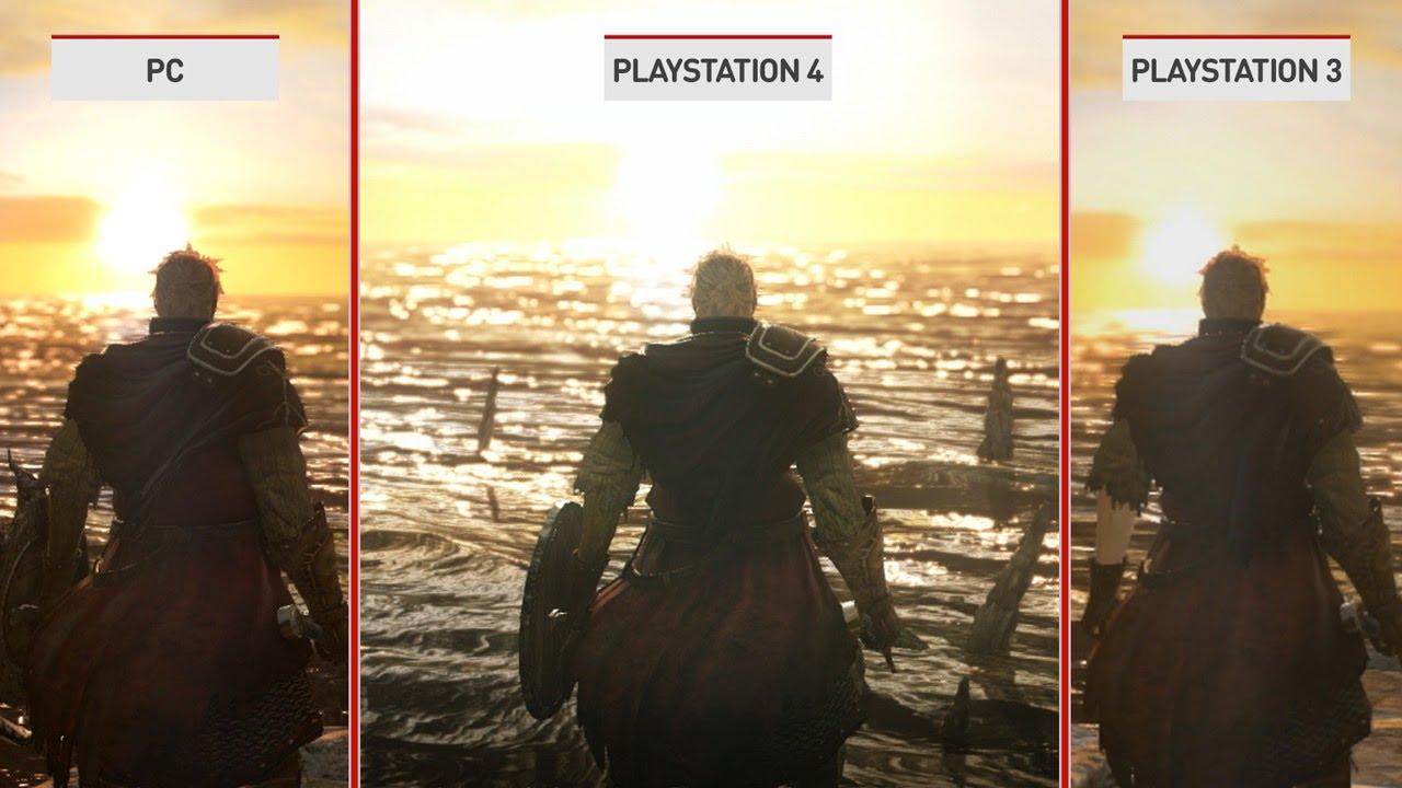 Dark Souls 2 Beta Prepare To Preview: Dark Souls 2: PS4 Graphics Comparison Preview
