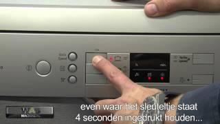 Bosch SMS58N68 vaatwasser. Handige vrijstaande afwasmachine van 60 cm met diverse programma's