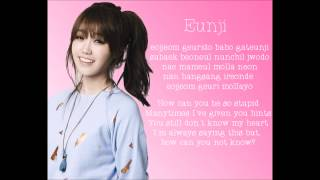 Repeat youtube video A Pink I Don't Know Lyrics | Romanization - Member Coded - English Translation