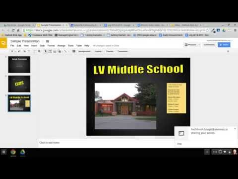 How to Create a Narrated Slideshow on a Chromebook - Part 1 of 4