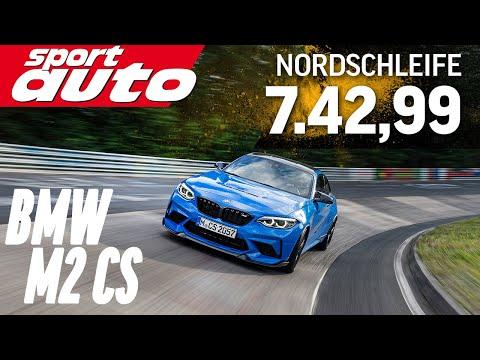 BMW M2 CS 7.42,99 min   Nordschleife HOT LAP Supertest   sport auto
