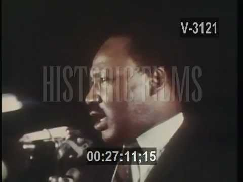 Martin Luther King Jr. Assassinated - April 4, 1968
