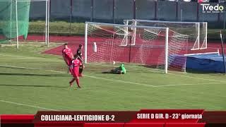 Serie D Girone D Colligiana-Lentigione 0-2