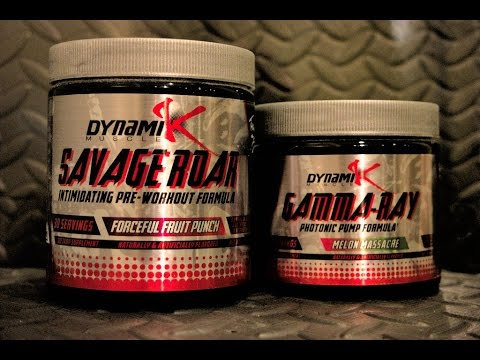 Kai Greene Savage Roar and Gamma Ray Preworkout Review by Dynamik Muscle