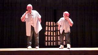 Hard Knock Life - Dr. Evil and MiniMe at the CHS Talent Show