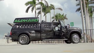 Alphard F350 is bringing noise to the streets of Miami