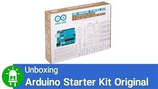 Unboxing do Arduino Starter Kit Original
