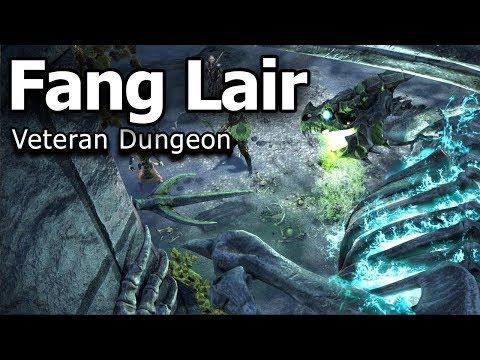 Fang Lair Veteran Dungeon No Death Run - Dragon Bones DLC ESO