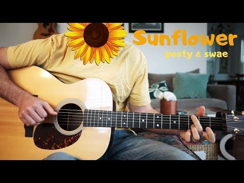 Sunflower (Post Malone, Swae Lee) - Acoustic Guitar