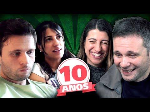REAGINDO AO PRIMEIRO VÍDEO DE 2009 DO CANADÁ DIÁRIO - 10 ANOS DE CANAL REACT #1 #10yearschallenge