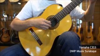 ORIGINAL Gitar Yamaha C315 Klasik nilon AKUSTIK ELEKTRIK