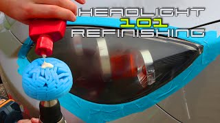 Headlight Refinishing 101 - REV J HD
