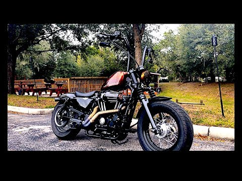 2014 harley davidson sportster forty eight custom exhaust fully tricked out