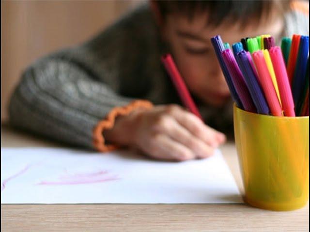 Secrets Inside a Child's Scribble #1