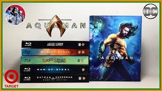Unboxing: AQUAMAN | Target Exclusive | Bluray/DVD/Digital Copy | Video en Español
