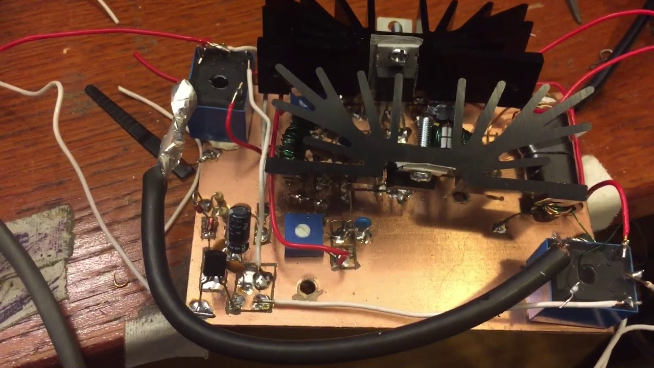 50W QRP HF Amplifier Demo with IRF510