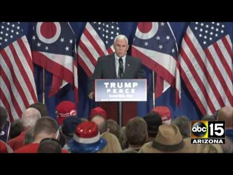 Partial: Gov. Mike Pence in Cambridge, Ohio... Complimentary of Gov. John Kasich