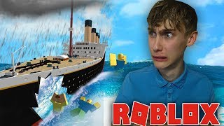 THE BOAT SINKS AND WE MUST SURVIVE! Roblox