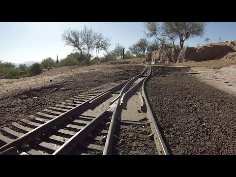 The DRV&E G-Scale Railroad in AZ Part 1