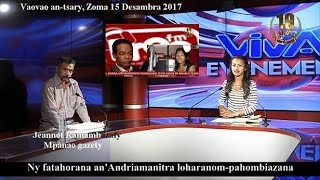Baixar Jeannot Ramambazafy. Rolly sy Voahangy X. Viva Tv 15 12 2017