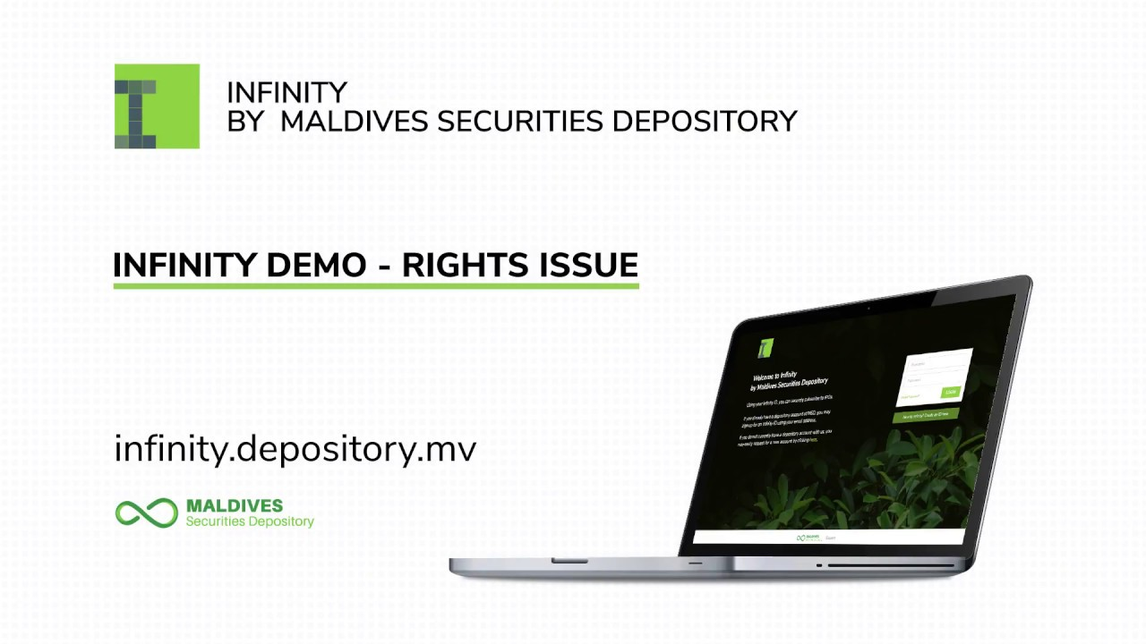 Infinity by Maldives Securities Depository