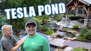 Gambar cover TESLA Backyard Pond and Waterfall