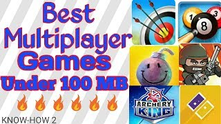 Best Multiplayer Android Games || Challange your Friends || By KNOW-HOW 2