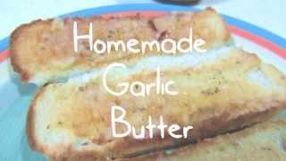 Easy Homemade Garlic Butter - DIY Make Your Own Butter Thumbnail