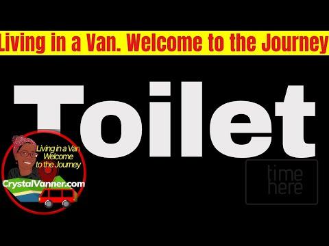 RV or Camper Van Toilet Alternative