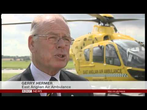 BBC News   Prince William to join East Anglian Air Ambulance