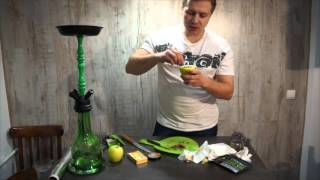 видео Кальян на фруктах — инструкция по приготовлению