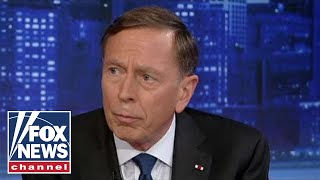 Petraeus: Trump meeting Taliban at Camp David would be 'troubling'