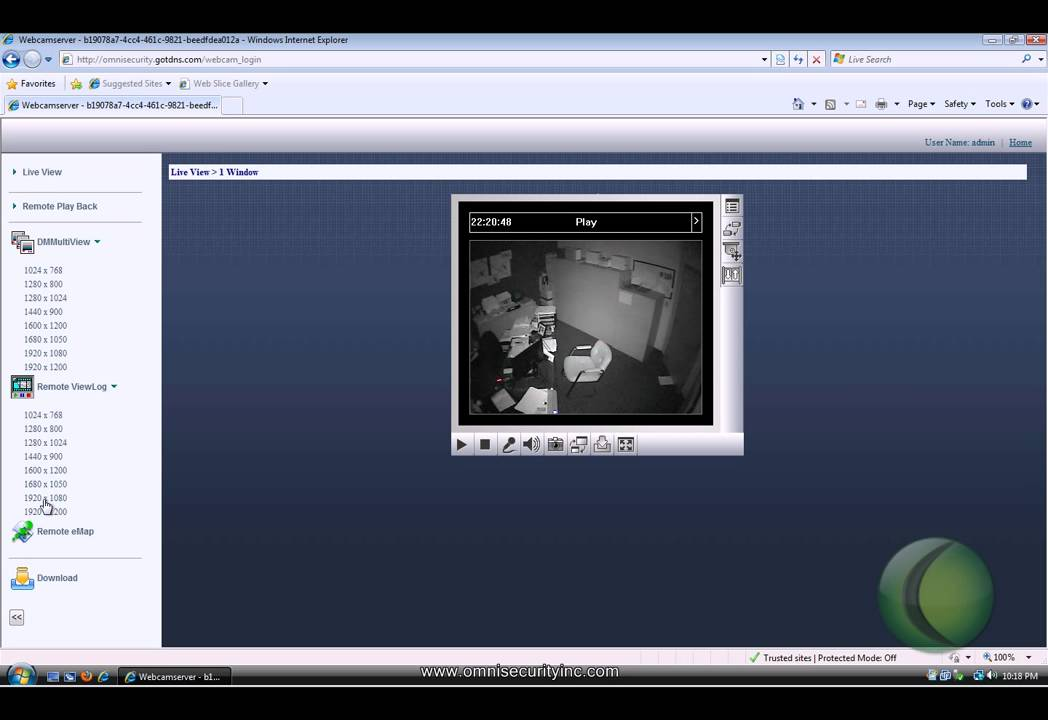 Geovision multiview remote Viewlog tutorial