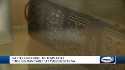 Bible at center of Manchester VA controversy