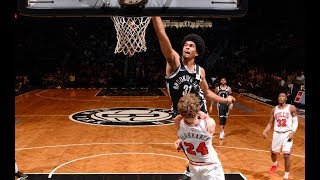 Jarrett Allen, Jakob Poeltl, and the Best Plays From Monday Night | February 26, 2018