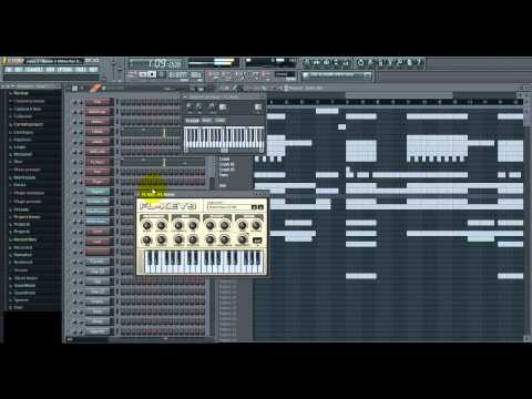 JUICY J - Bands N Make Her Dance FL studio Tutorial + FLP + DIY Acapella