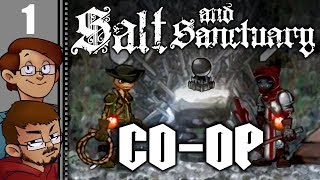 Let's Play Let's Play Salt and Sanctuary Co-op Part 1 - The Sodden Knight