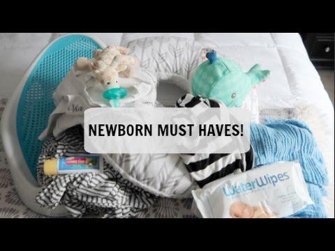 NEWBORN MUST HAVES! I NEWBORN FAVORITES!